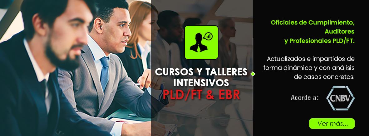 Cursos y talleres oficial de cumplimiento PLD/FT con EBR Sector Financiero.