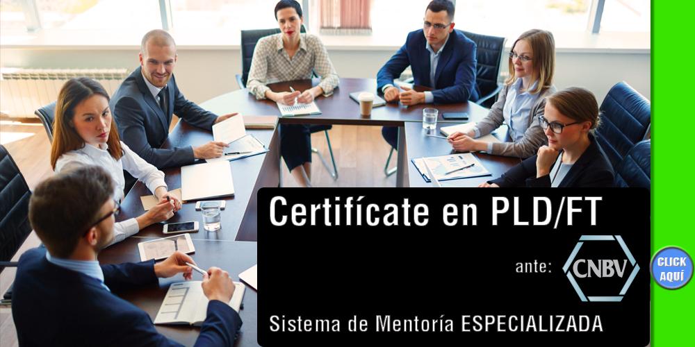 Curso para OFICIAL DE CUMPLIMIENTO PLD/FT Para Certificado CNBV