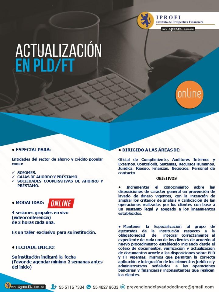 Curso Actualización Anual PLD/FT
